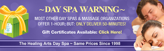 Day Spa Warning
